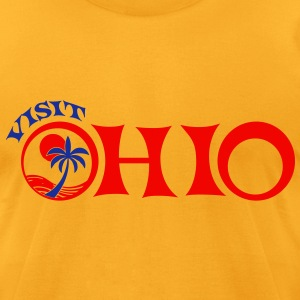 visit ohio T-Shirts - Men's T-Shirt by American Apparel