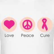 Design ~ Love Peace Cure - Men
