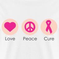 Design ~ Love Peace Cure - Men