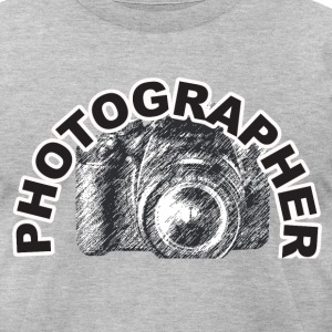 Photographer - Men's T-Shirt by American Apparel