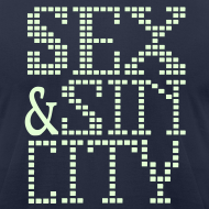 Design ~ funny Vegas tee shirts sex & sin city