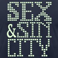 Design ~ funny Vegas tee shirts sex & sin city