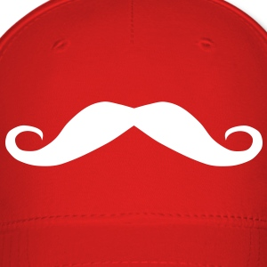 Moustache mustache, a fine top lip for a gent Caps - Baseball Cap