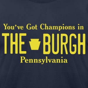 Burgh Champions Tee - Men's T-Shirt by American Apparel