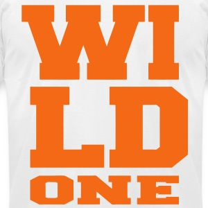 WILD ONE - Men's T-Shirt by American Apparel