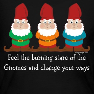 Burning Stare of The Gnomes - Women's Long Sleeve Jersey T-Shirt