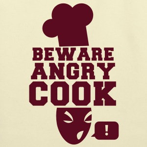 BEWARE angry COOK! with a speech bubble ! Bags  - Eco-Friendly Cotton Tote