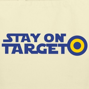 STAY ON TARGET star centre awesome! Bags  - Eco-Friendly Cotton Tote