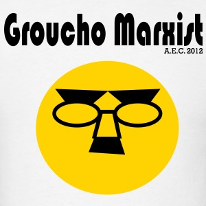 'Groucho Marxist' Vector Graphic T-Shirts - Men's T-Shirt