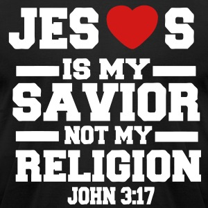 JESUS IS MY SAVIOR T-Shirts - Men's T-Shirt by American Apparel