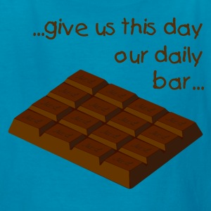 chocolate bar solid 4x4 - digital Kids' Shirts - Kids' T-Shirt