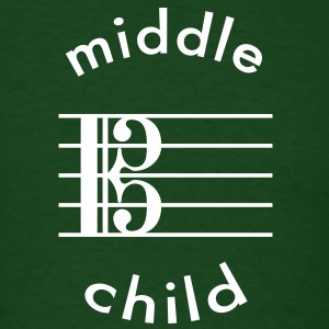 Viola Is The Middle Child T-Shirts - Men's T-Shirt