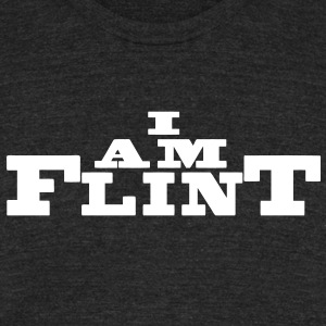 I Am Flint T-Shirts - Unisex Tri-Blend T-Shirt by American Apparel