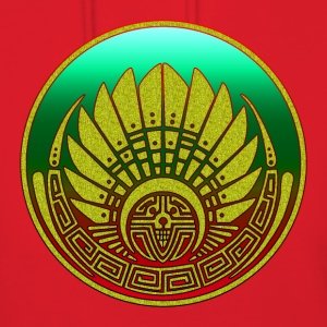 Crop circle - Mayan mask - Silbury Hill 2009 - Quetzalcoatl - Native Americans - Aztec - Venus - 2012 - Symbol New Age / Hoodies - Women's Hoodie