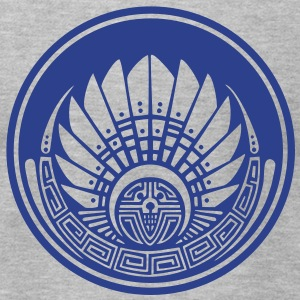 Crop circle - Vector- Mayan mask - Silbury Hill 2009 - Quetzalcoatl - Native Americans - Aztec - Venus - 2012 - New Age / T-Shirts - Men's T-Shirt by American Apparel