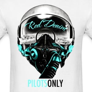 Pilots Only red/L. Blue for Men - Men's T-Shirt