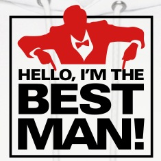 Hello Im The Bestman 1 (2c)++ Hoodies