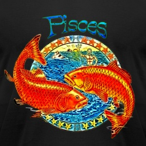 Pisces T-Shirts - Men's T-Shirt by American Apparel