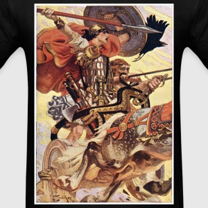 Cuchulain in Battle T-Shirts - Men's T-Shirt