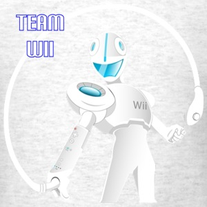 Team Wii Robot Representer - Men's T-Shirt