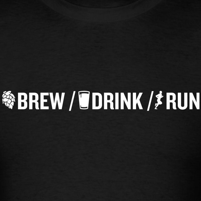 Brew / Drink / Run T-Shirt