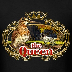 queen_woodcock T-Shirts - Men's T-Shirt