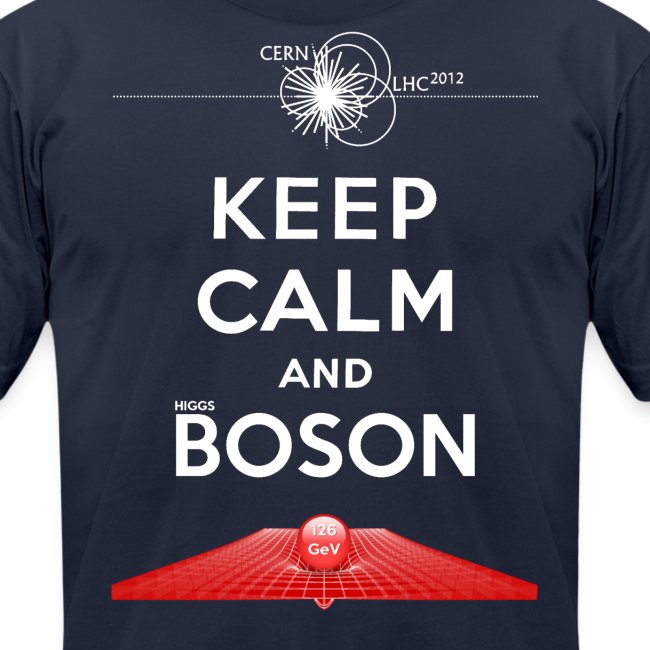 9507542f7 Top Tees | Keep Calm And Higgs Boson Tee - Mens Jersey T-Shirt