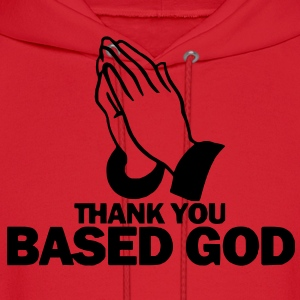 Thank You Based God Hoodie - Men's Hoodie