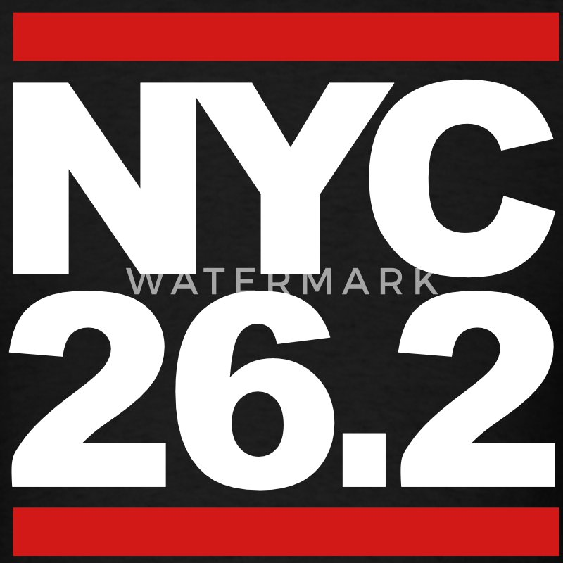 NYC 26.2 - Men's T-Shirt