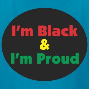 Black and Proud Kids' Shirts - Kids' T-Shirt