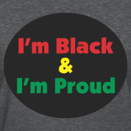 Design ~ Black and Proud - Women