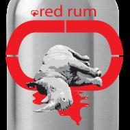 Design ~ Red Rum water bottole
