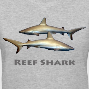 Reef Sharks - Women's V-Neck T-Shirt