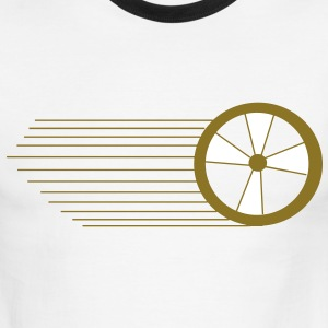 speed wheel shirt 2 - Men's Ringer T-Shirt