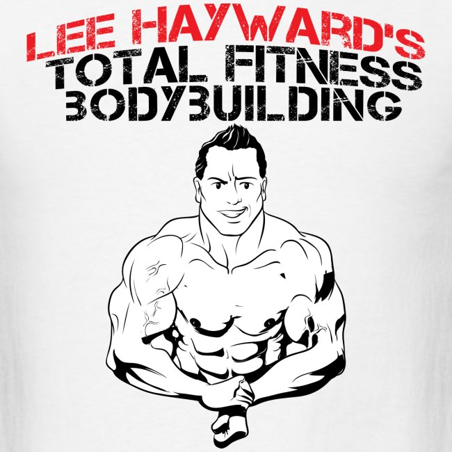 Lee Hayward Cartoon Muscle T-Shirt