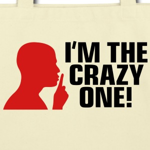 Im The Crazy One 2 (2c)++ Bags  - Eco-Friendly Cotton Tote