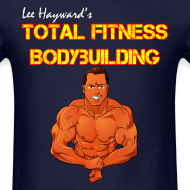 Design ~ Lee Hayward Cartoon Muscle T-Shirt