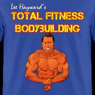 Design ~ Lee Hayward Cartoon Muscle T-Shirt