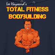 Design ~ Lee Hayward Cartoon Muscle Hoodie