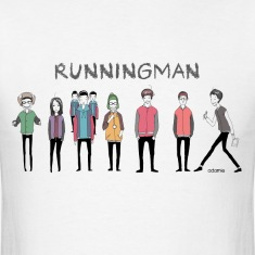 Running Man Cast (Episode 74 Super Natural) T-Shir