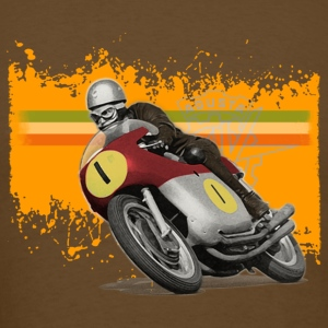 cafe racer - agusta 500/4 [back] - Men's T-Shirt