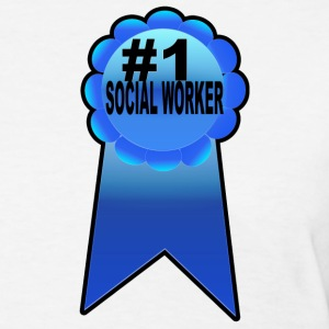 #1 Social Worker - Women's T-Shirt