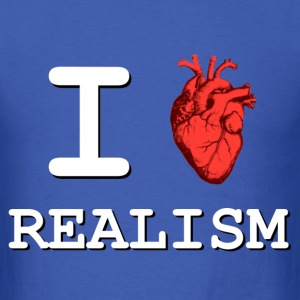 I Heart Realism T-Shirts - Men's T-Shirt