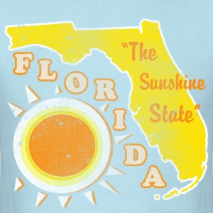 Florida, The Sunshine State retro Mens  - Men's T-Shirt