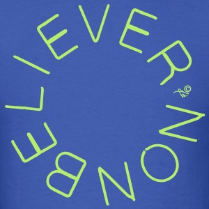 Nonbeliever circle - Men's T-Shirt