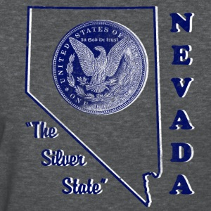 Nevada, The Silver State vintage womens t-shirt - Women's T-Shirt