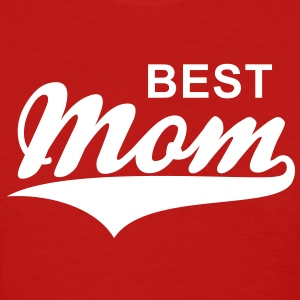 BEST Mom Tail-Design T-Shirt WR - Women's T-Shirt