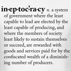 Ineptocracy - Men's T-Shirt