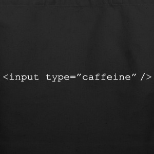 HTML Form - Input Caffeine - Eco-Friendly Cotton Tote