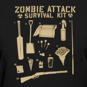 Zombie Survival Kit Tee - Women's T-Shirt
